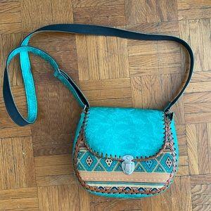 Handbags - Handmade patterned crossbody bag